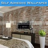 SINO Latest Designs Living Room Waterproof Wallpaper 3D Brick
