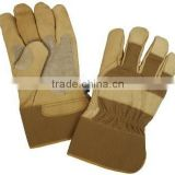 Carhartt Men's Insulated Grain Leather Work Glove with Safety Cuff/best quality by taidoc