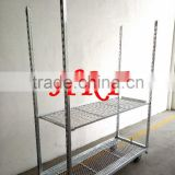 Display Flower Trolley cart.Danish Trolley.Gardening Transport Cart, Steel Rolling Trolley Tool cart.Greenhouse Equiment