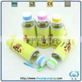 new inventions in china borosilicate glassware,bottle with Nylon bag