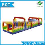 Promotion 0.55mm PVC baby obstacle courses, adult inflatable obstacle course,giant inflatable obstacle course