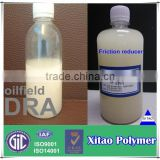 Partially hydrolysed polyacrylamide drag reducing agent in oil drilling/PHPA