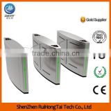 Data Backup/Ticket Counter Turnstile,Optical Flap Barrier Turnstile Gate for Subway                                                                         Quality Choice