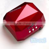 Diamond nail lamp phototherapy light phototherapy machine baking JiaQi diamond nail led lamp 36 w / 18 w nail phototherapy lamp