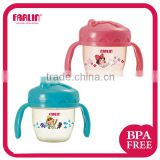 FARLIN GuLu GuLu2 BPA Free Water Cup with Handle and Straw 120ml Baby Sippy Cup Training Cup
