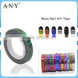 ANY Nail Art Wave Style Nail Tape Plastic Sticker Nail Art DIY