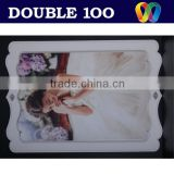 hot sale double100 new design digital photo frame