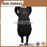 Wholesale Good Quality Cooking Black Aprons,Heavy Duty Black Aprons
