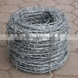Used Galvanized Barbed Wire For Sale / PVC Coated Barbed Wire Price Weight Per Meter For Fence