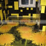 PVC Material Water Proof Anti Slip Design 3d flooring mat                                                                         Quality Choice