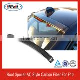 2013 rear roof spoiler carbon fiber AC Style wing lip FOR BMW F10 5 series