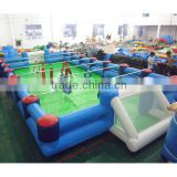high quality durable inflatable human foosball