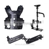 Laing M-30PII Steadicam System with B10 Stabilizer+V4 vest+ X-28 Arm for Video Camera DSLR Support Monitor & Battery
