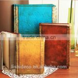 Wholesale In Stock Leather Notebook Cover Hard Cover Notebook                                                                         Quality Choice