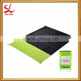 Lightweight Beach Blanket Quick-drying Compact Outdoor Picnic Mat Strong Ripstop Parachute Nylon Pocket Blanket