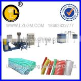 PVC enhanced spiral reinforced Pipe production line/PVC enhanced spiral reinforced Pipe production line/pipe making machine
