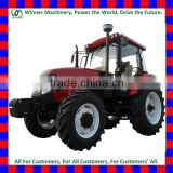 made in china 2wd and 4wd 1000/1004 model 100HP universal farm tractor with front loader and back hoe