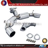 "4.5"" DUAL TIP MUFFLER CATBACK EXHAUST SYSTEM for TOYOTA MR2 TURBO W20 91-95"