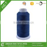Dyed Pattern 100% High Tenacity Filament 120D Polyester Embroidery Thread