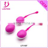 2016 Silicone Kegel Exercise Love Ball, Vagina Sex Toys Silicone Sex Product, Silicone Love Ball