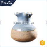 2015 New arrival hot sale wholesale ceramic flower vases, wholesale ceramic home decor CC-D097