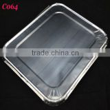 aluminum foil lid/cover for food containers