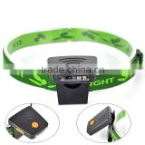 3W 3 LED Cap Hat Lamp Light Camping Rechargeable Headlamp Headlight+USB Charger