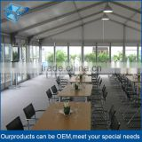 Outdoor festival food tent,PVC fabric 30 person tent restaurant tent