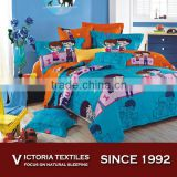 4 piece queen size bed set adult cartoon bedding sets