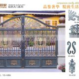 Garden Decoration Cast Aluminum Driveway Gate on Alibaba.com