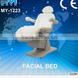 MY-1223 BEST!Electrical Facial Bed Massage Bed Spa Equipment/ PU massage SPA furniture motor electric massage bed (CE)