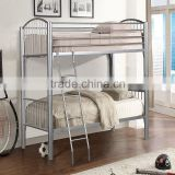 High quality KD structure double decker metal bed for sale Furniture
