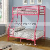 Durable Double Layer Beds Rail Double Metal Bunk Bed