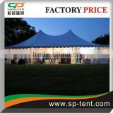 hot sale wedding tent pole marquee made of 850g/sqm roof cover and galvanized steel frame