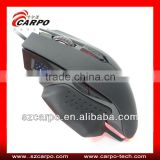 Cool 6keys high resolution 2400dpi wired Gaming mouse for micro pc mini computer C502