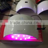 Amazon hot sell 24W led nail lamp with Sensor SUN 9S /9C