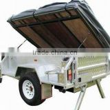 Hot Dipped Galvanized Camper Trailer