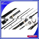 Carbon fiber Material 2 sections Carp fishing rod carp fish blank wholesale