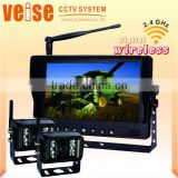 Aftermarket tractor Parts Digital Wireless Rearview System for John Deere, Massey Ferguson, Fiat-Allis