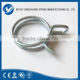 China Manufacture Contact Supplier Leave Messages Non-perforated band hose stainless steel simplex double wire hose clamp
