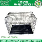 Haierc Pet folding Crates Puppy Dog Cat metal foldable cages 24 30 36 42 48 inch handle(DSA30)