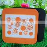 #112611 factory direct selling Hot custom cheap printed EVA bar coaster with various colors & thick through azo-free