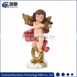 Custom polyresin handmade angel ornaments religious decoration