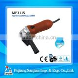 4.5 Inch Electric Angle Grinder, 710W 115MM MP3115, Power tools, Hand grinding machine price