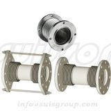 Bellow expansion joint, flexible joints, flexible coupler, flex hose, flexible bellow with flanges, metal hose
