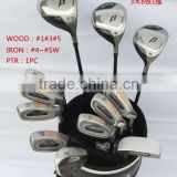 cheapest price steel or graphite shaft golf club