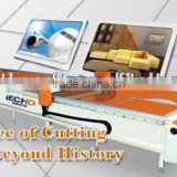 Composites Large Format Cutting Machine for RIBS and Inflatable Swan and Inflatables Boats with Korea PVC Fabric