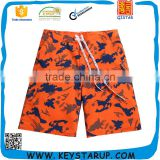Fitted Man Sport Beachwear 4 Way Stretch Quick Dry Swimwear in Ready made