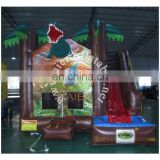 2017 Aier CE approved small kids inflatable jumping inflatable castle/party rental jumping inflatable castle with slide and pool