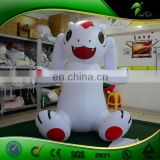 Inflatable Cartoon Rabbit/ Dog Animal Balloon Parade Commercial Advertising Rabbit LED Inflatables Trade Show Balloon with LOGO